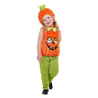 Toddlers Halloween Pumpkin jelmez Jelmez