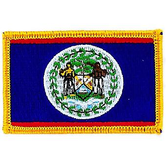 Patch Patch Brode Flag Belize Flag Thermocollant Blason Badge