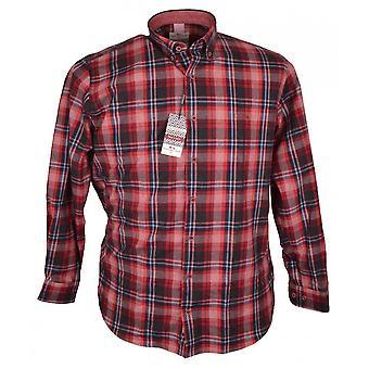 DARIO BELTRAN Dario Beltran Brushed Cotton Check Shirt