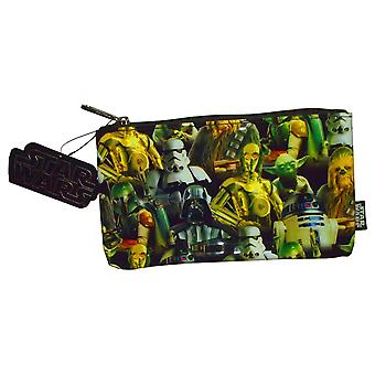 Pencil Case - Star Wars - Multi Character New Licensed stcb0022