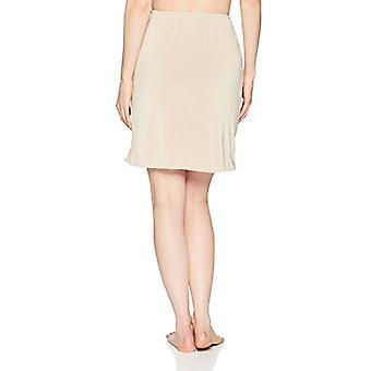 Jones NY Women's Silky Touch 19 Anti-Cling Above Knee Half Slip, Nude, L