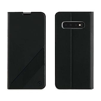 Case For Samsung Galaxy S10 Black Card Door