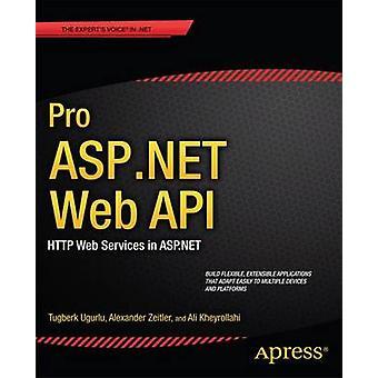 Pro ASP.NET webb-API av Ali Ugurlu