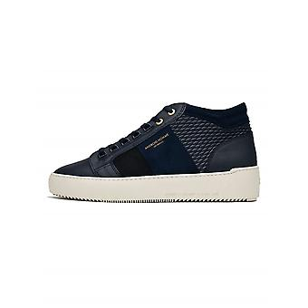 Android Homme Android Homme Navy Stretch Propulsion Mid Sneaker