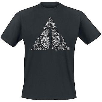 Harry Potter Unisex Adults Symbol Design T-Shirt