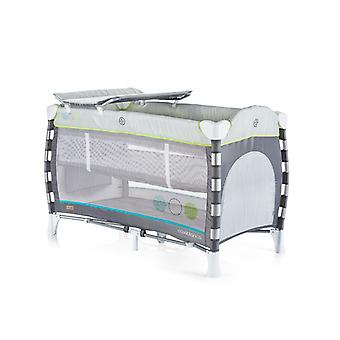 Chipolino travel bed Casablanca, changing mat, accessory bags, side entrance