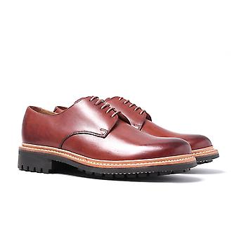 Grenson Curt Tan Hand Painted Brogues