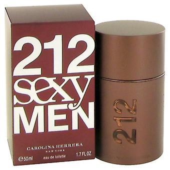 212 Sexy eau de toilette spray de carolina herrera 441012 50 ml