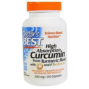 Beste Curcumin C3 Complex 500 mg (120 Kapseln) - Doctor's Best