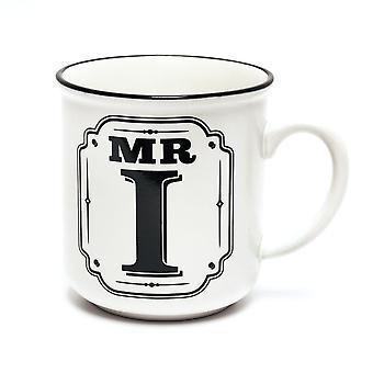 L'histoire et les tasses d'alphabet d'héraldique -mr I
