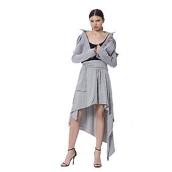 Grey Skirt Silvian Heach Women