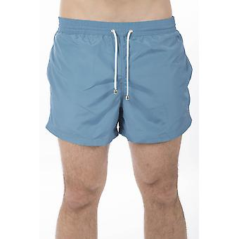 Light Blue Bagutta Men's Swim Shorts