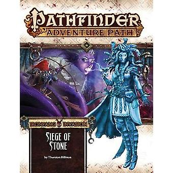 Pathfinder Adventure Path Ironfang Invasion Part 4 of 6  Siege of Stone by Thurston Hillman