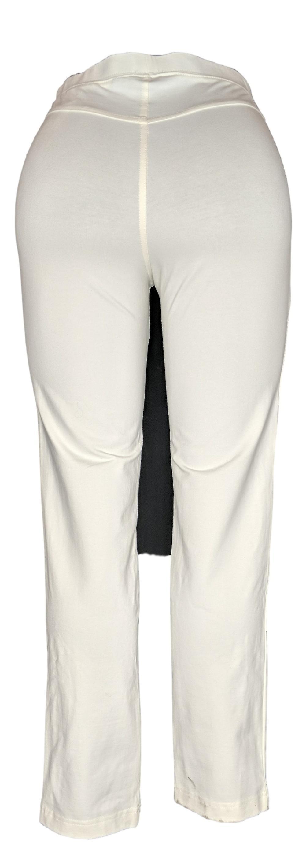 Women with Control Women's Pants Regular Pull-On Slim Leg Ivory A310159 TPGkJv