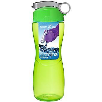 Sistema Sanduhr Trinkflasche 645ml, grün