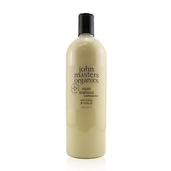 John Masters Organics Repair Shampoo For Damaged Hair With Honey & Hibiscus - 1000ml/33.8oz