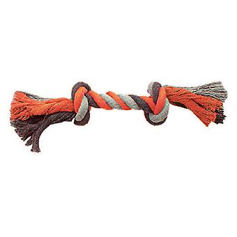 Duvo+ Orange Rope Knots With 2 20Cm (Dogs , Toys & Sport , Ropes)