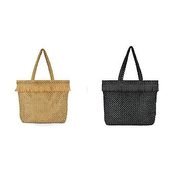 Luna Cove Womens/Ladies Paperstraw Shopper Bag