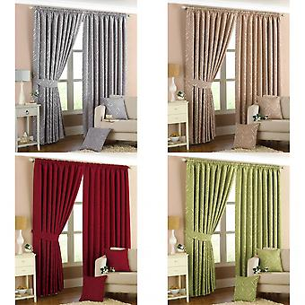 Riva Home Willow Pencil Pleat Curtains