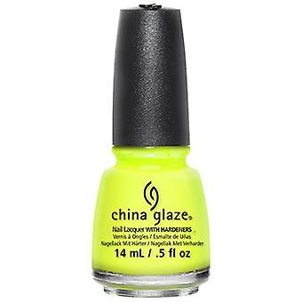 China Glaze Nail Polish Collection - Yellow Polka Dot Bikini 14ml (80948)