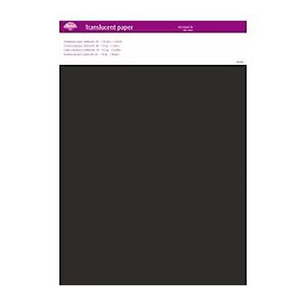 Pergamano Translucent Paper Anthracite A4 150 gsm 5 Sheets