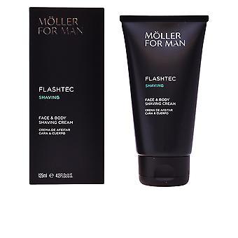Anne Möller Flashtec scheren gezicht & lichaam scheren crème 125 Ml voor mannen