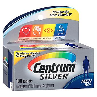 Centrum silver men 50+, multivitamin, tablets, 100 ea