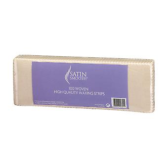 Satin Smooth 100 Woven High Quality Waxing Paper Removal Strips