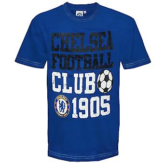 Chelsea FC Officiel Football Gift Infants Graphic T-Shirt Navy Blue