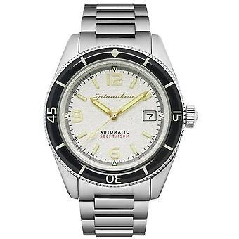 Spinnaker SP-5055-11 Gent's Fleuss White Dial Wristwatch
