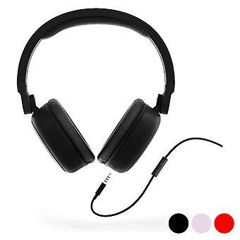 Fones de ouvido com microfone energia sistem estilo 1 talk/vermelho