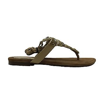 Proxy Womens Lamarra Leather Open Toe Casual Strappy Sandals