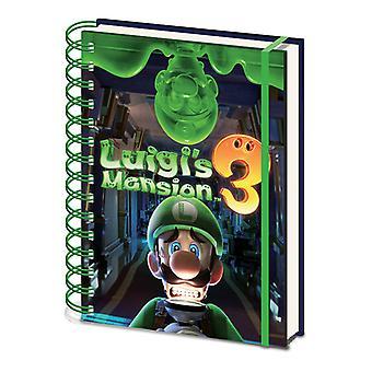 Luigi's Mansion 3 Gooigi A5 Notebook