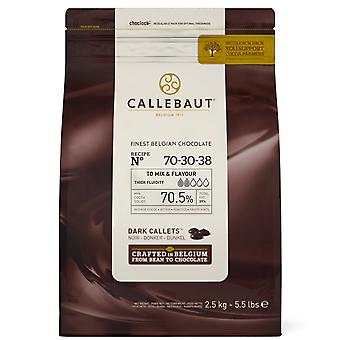 2.5kg Callebaut Dark Chocolate Choc Chip Drops Baking Cup Cakes Biscuits Muffins