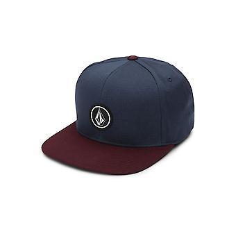 Volcom Men's Cap ~ Quarter Twill blue