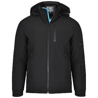 Kam Jeanswear Mens Sherpa Lined Softshell Jacket