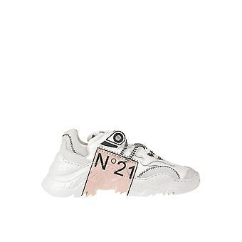 Ezgl068184 Femmes-apos;s White Leather Sneakers