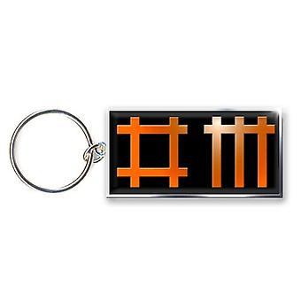 Depeche Mode Keyring Keychain band Logo new Official metal