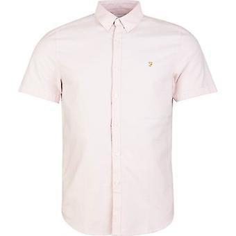 Farah Brewer camisa de manga corta delgada