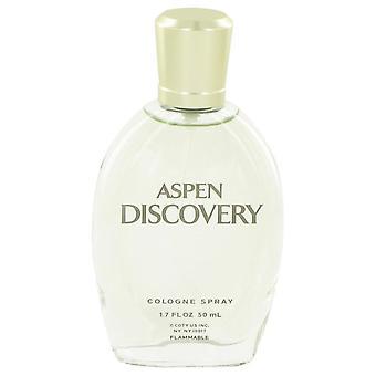 Aspen Discovery Cologne Spray (unboxed) By Coty 1.7 oz Cologne Spray