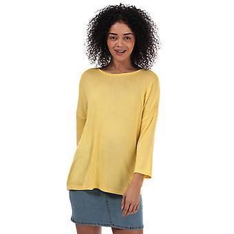 Naiset&s Vero Moda Brianna 3 Quarter Hiha Oversize Jumper keltainen