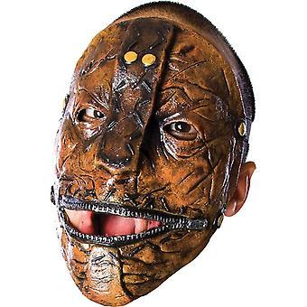 Nudo de deslizamiento gusanos máscara para adultos