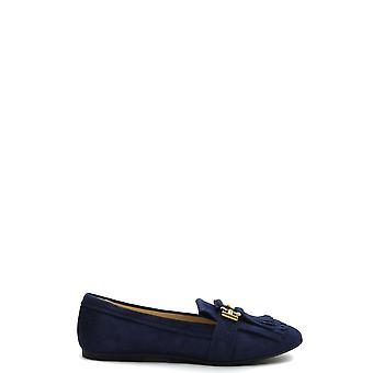 Tod's Ezbc025112 Mujeres's Blue Suede Loafers