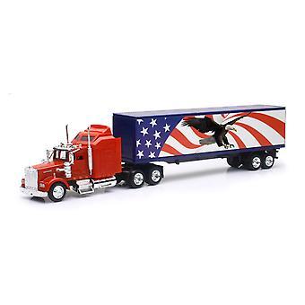 1/43 Kenworth W900 patriotique graphique camion