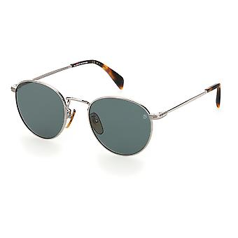 David Beckham DB1005/S 6LB/QT Ruthenium/Green Sunglasses
