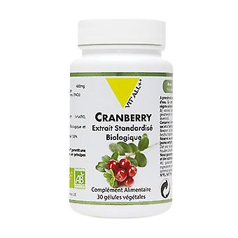 Cramberry 400mg Standardized Extract 30 vegetable capsules