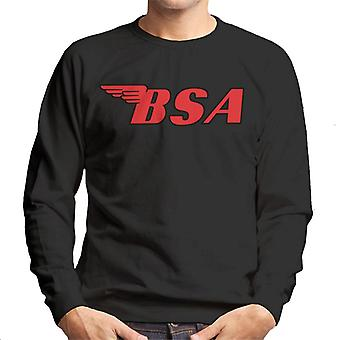 BSA Red Logo Men's Sweatshirt