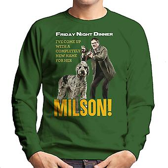 Friday Night Dinner Naming Milson Men's Sweatshirt