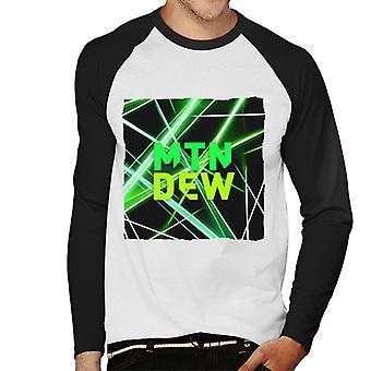 Mountain Dew Laser Men's Baseball Long Sleeved T-Shirt