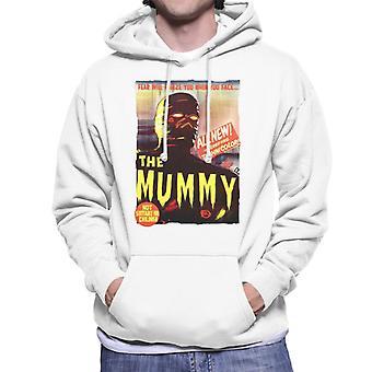 Hammer Horror Films Mummy Movie Affiche Men-apos;s Sweatshirt à capuchon